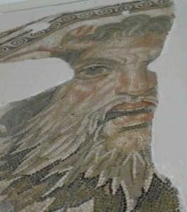 Arc töredék a Bardo múzeumból
