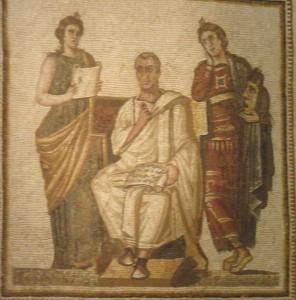 Virgill és a múzsák
