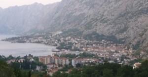 Kotori öböl Kotor városával