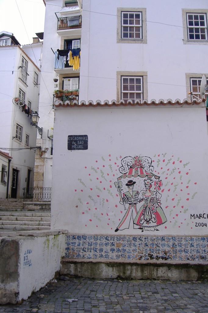 Lisszaboni óvárosban