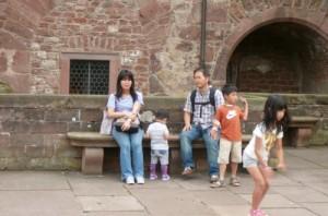 család Kína válás