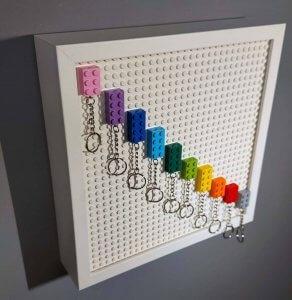 LEGO kulcstartó