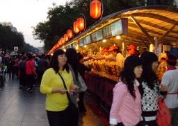 Icek ucája - Éjszakai piac Pekingben