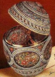 A királynő pazar mozaik tojása
